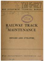 Cover of: Railway Track Maintenance